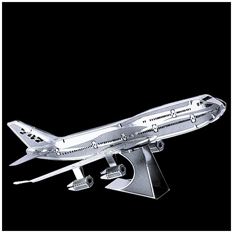 Metal Earth Commercial Jet