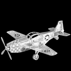 Metal Earth P-51 Mustang