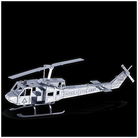 Metal Earth Bell UH-1D Helikopter