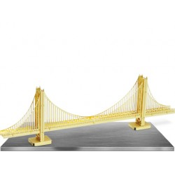 Metal Earth Golden Gate Bridge Gold Edition