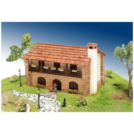 DOMUS KITS Messon Huis H0 (1:87)